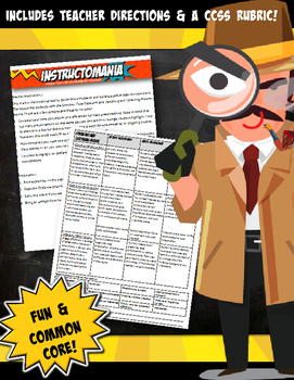 Family History Detective News Brief- CCSS Research,Speaking & Listening Aligned!
