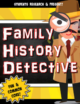 Family History Detective News Brief- CCSS Research,Speakin
