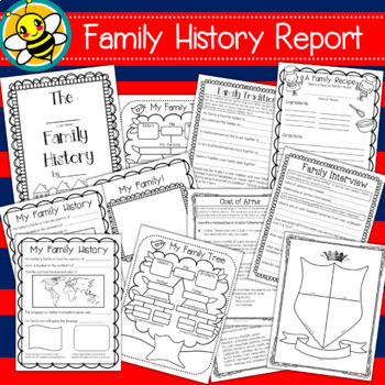 family history teaching resources teachers pay teachers