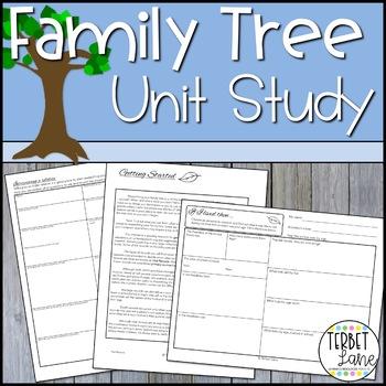 Family Tree Unit Study
