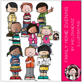 Melonheadz: Family Home Evening clip art - COMBO PACK