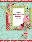 Family Homeschool Planner - 2017-2018 School Year