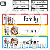 Family - Illustrated Word Wall (30)