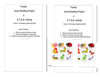 Family Insect S.T.E.M. Project
