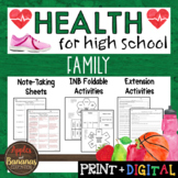 Family - Interactive Note-Taking Materials