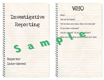 Family Interview Investigative Reporting