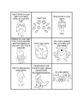 Family Involvement Bingo - English and Spanish