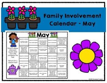 Family Involvement Calendar - May