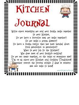 Family Involvement Journals