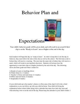 Family Involvement Plan