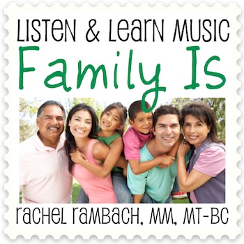 Family Is: Educational Song (MP3 + Instrumental Track + Lyrics/Chords)