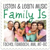 Family Is: Educational Song (MP3 + Instrumental Track + Ly