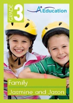 Family - Jasmine and Jason - Grade 3