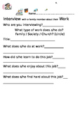 Family Job Interview