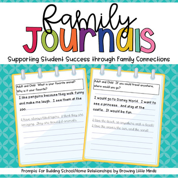 Family Journal Prompts