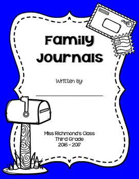 Family Journals - Home & School Writing