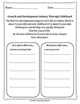 Family Life Activities-Grade 4