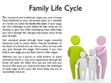 Family Life Cycle PowerPoint