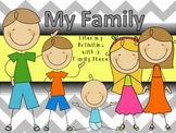 Family Literacy Activities Unit (Printables for Whole Grou