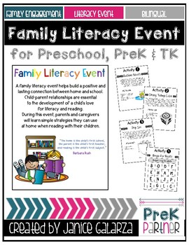Family Literacy Event {{BILINGUAL}}