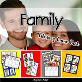 Family Literacy Game Pack by Kim Adsit