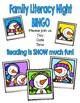 Family Literacy Night BINGO - Winter Theme