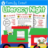 Family Literacy Night Kit {editable}