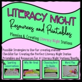 Family Literacy Night Resources for Literacy Stations and