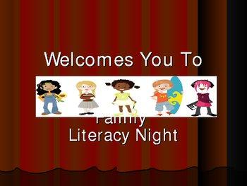 Family Literacy Night Powerpoint Grades K-3