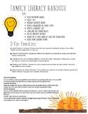 Family Literacy Skills/Tips