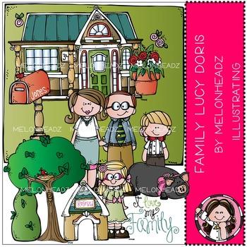 Melonheadz: Family clip art - Lucy Doris