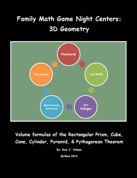 Family Math Game Night: 3D Geometry