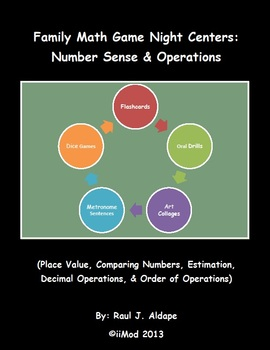 Family Math Game Night: Number Sense & Operations