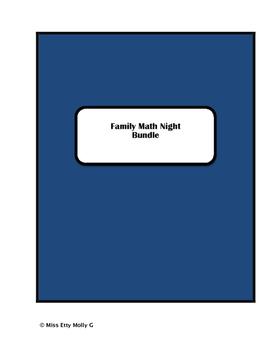 Family Math Night Bundle