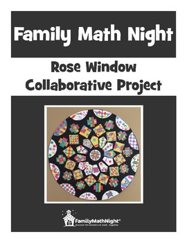Family Math Night:  Rose Window