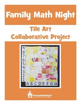Family Math Night Tile Art