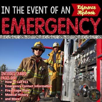 Family Emergency Flip Book