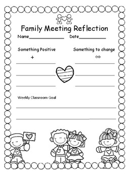 Family Meeting Reflection