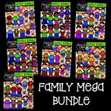 Family Mega Bundle {Creative Clips Digital Clipart}