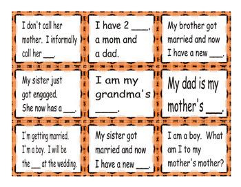 Family Member Cards