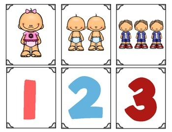 Family Member Counting Concentration