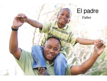 Family Members Introduction in Spanish