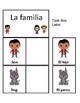 Family Members Spanish Task Cards