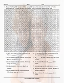 Family Members Spanish Word Search Worksheet