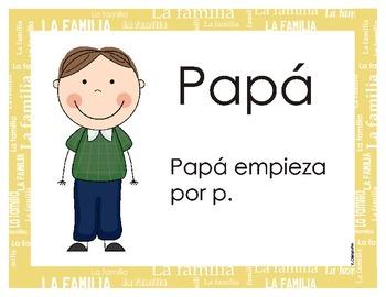Family Members in Spanish