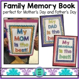 Family Memory Book (Mother's Day and Father's Day)