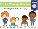 Family Message Journals {A Writing Activity for the Whole Family}