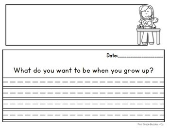 draw what you want to be when you grow up