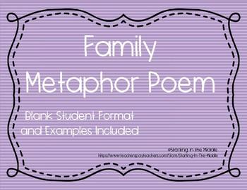 Family Metaphor Poem