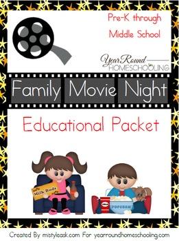 Family Movie Night Educational Pack